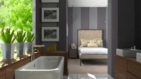 Bedroom Boudoir - Modern - Bedroom  - by Carliam