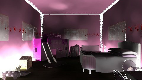 Princess Palace - Glamour - Kids room  - by the Savage