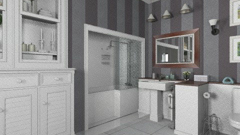 house Bathroom social - Classic - Bathroom  - by Maria_Julia