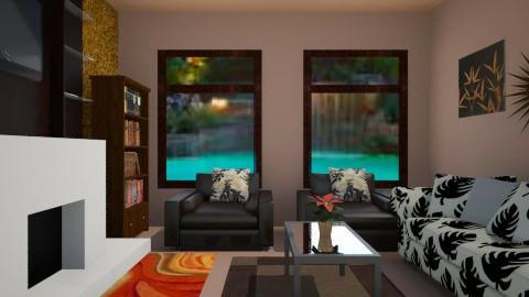 LIVING ROOM - by GLENN SANCHEZ