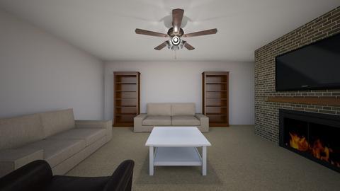 Poppy - Living room - by chrometoaster