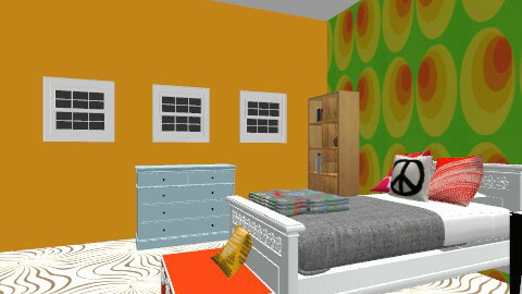 1960s - Retro - Bedroom  - by JaJuMo