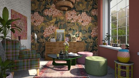 interior_sala de estar - Modern - Living room - by jjannnii