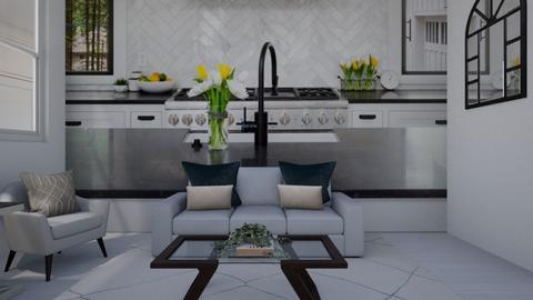 Jodis living room pt 9 - Modern - Living room  - by ebungarden