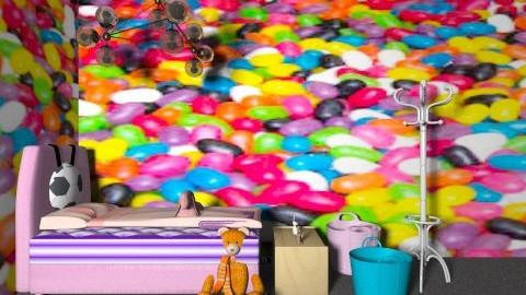 Little girls room - Modern - Kids room  - by sherbetlollipop
