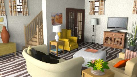 Living Room - Eclectic - Living room - by ruthiec1