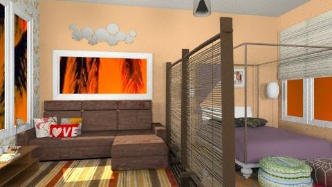 students boarding - Minimal - Bedroom  - by Veny Mully