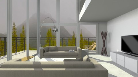 all about the view - Minimal - Living room  - by lauren_murphy