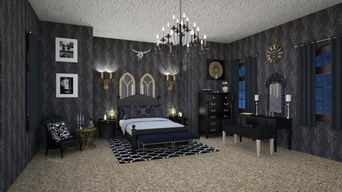 Darkness - Modern - Bedroom - by JiaJayy