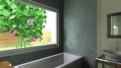 ECO ALDEA OFICE - Glamour - Bathroom  - by domuseinterior