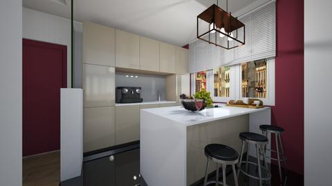 Variations_Kitchen - Modern - Kitchen  - by Laurika