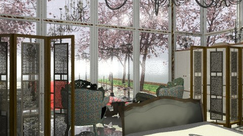 glass house - Glamour - Bedroom - by Your well wisher