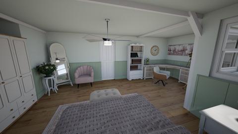bedroom  - Bedroom  - by isAbelleEscribAno