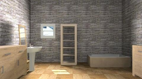 relaxing bathroom - Vintage - Bathroom  - by mary_01