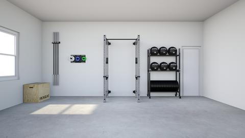 new house gym - by rogue_64facd76f07adec79f6c4c333027c