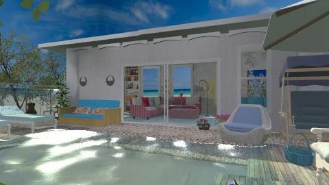 Family pool - Classic - Garden  - by milyca8