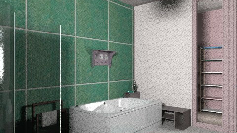 High rise apartment - Eclectic - Bathroom  - by mrschicken