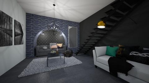 Geometric  - Modern - Living room - by JarvisLegg