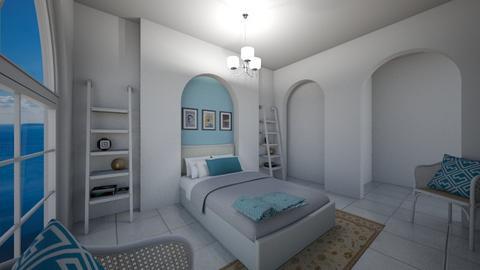 Greek Modern Bedroom - Bedroom  - by jordynclark