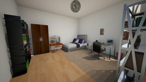 room - Modern - Bedroom  - by kimiia Sadeghi