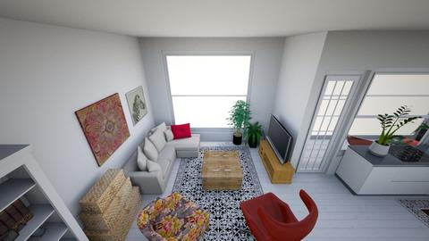 My first flat - Eclectic - by Kateunina