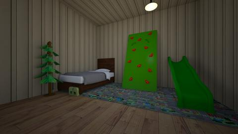 Kids room - Retro - Kids room  - by chrisettes