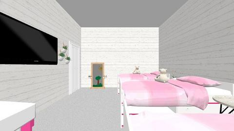 triplets room - Kids room  - by its_adri