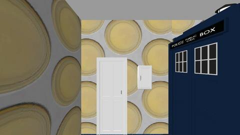 Doctor Who man cave - Modern - by wolfcub4life