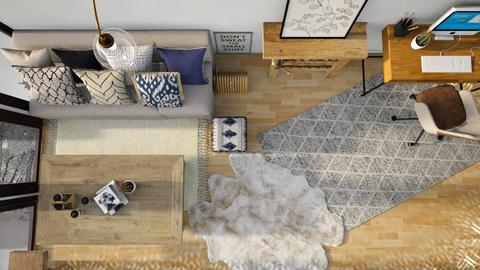 Above - Modern - Living room  - by CitrusSunrise