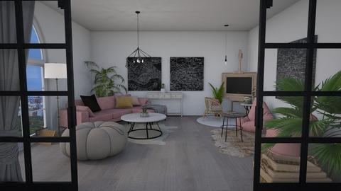 Torino - Living room  - by LillMiaaa