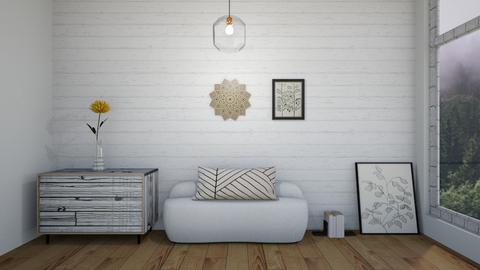 hint of brightness - Living room  - by tigeriffic