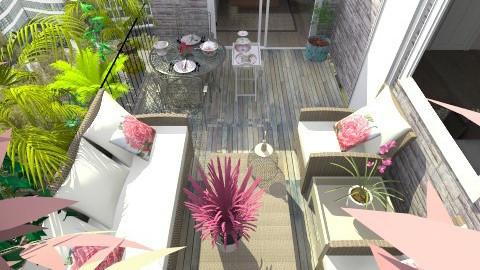 atico - Living room  - by lundilu