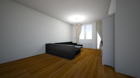 Madde och Magnus - Living room  - by zirker