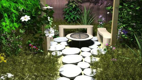 garden - Rustic - Garden  - by byka00