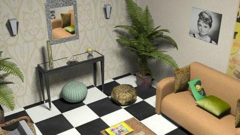 garage - Retro - by Dadaist
