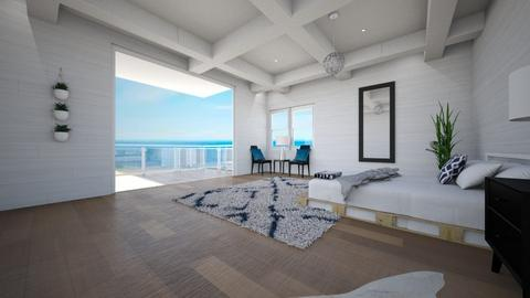 Beach Bedroom - Minimal - Bedroom  - by Taehyungie