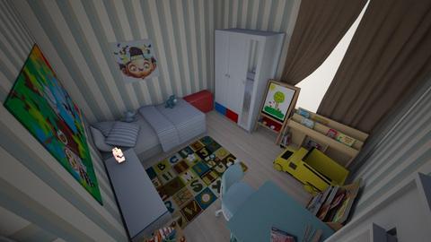 kid - Bedroom - by sasasaaaw