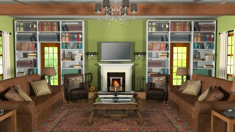 Georgia Room - Country - Living room - by wwrightsc