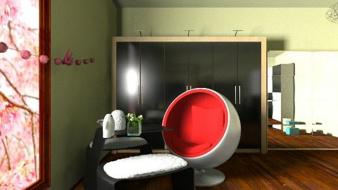 SID 4 - Glamour - Bathroom  - by MENGQIU XU