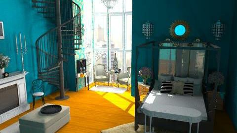 dream bedroom - Glamour - Bedroom  - by lysha