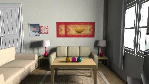 my livingroom - Vintage - Living room  - by sharptheshark