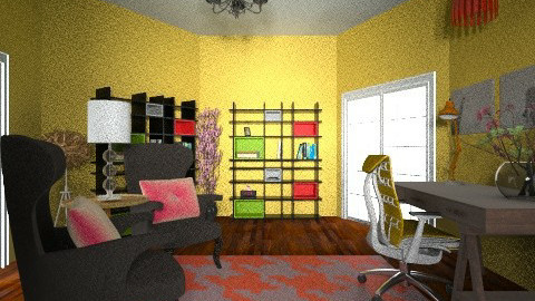 office - Rustic - Office  - by dancergirl1243