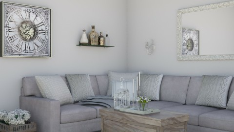 Cozy living room - Rustic - Living room  - by Malwalker02