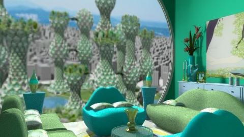 seol green - Eclectic - Bedroom  - by faar70
