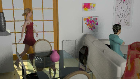 Salon 2 - Dining Room  - by Esnach
