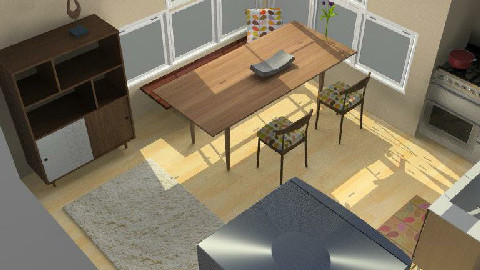 Kitchen and Dining Space - Dining Room  - by morthis