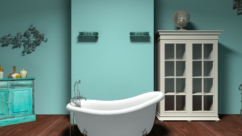Bathroom - Vintage - Bathroom  - by bl vl