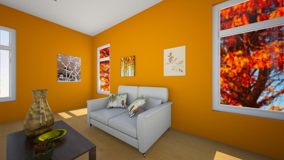 Autumn Living Room - Classic - Living room  - by VibrantSplash