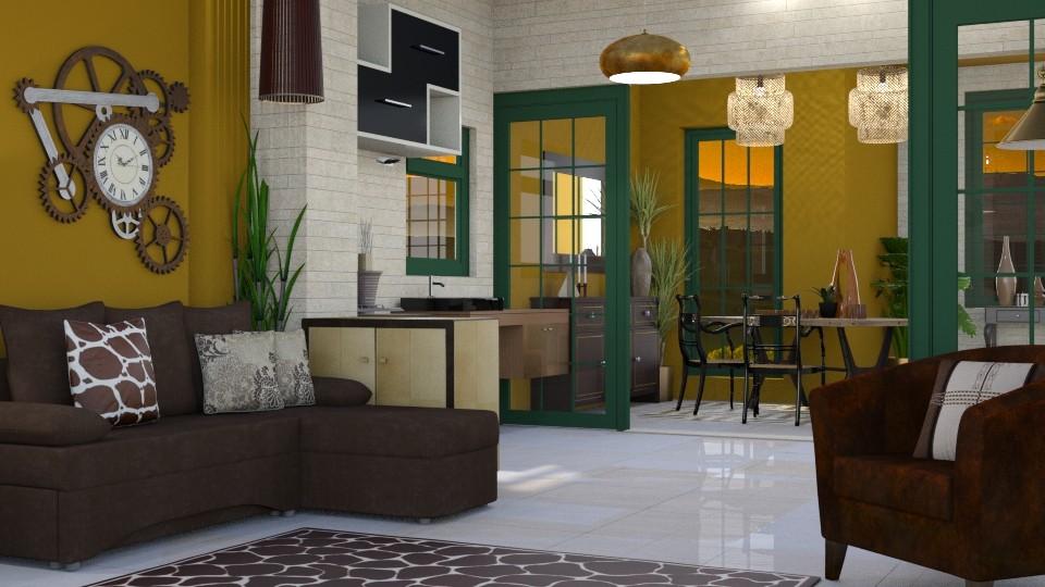 Cozy Corner - Modern - Dining room - by Gurns