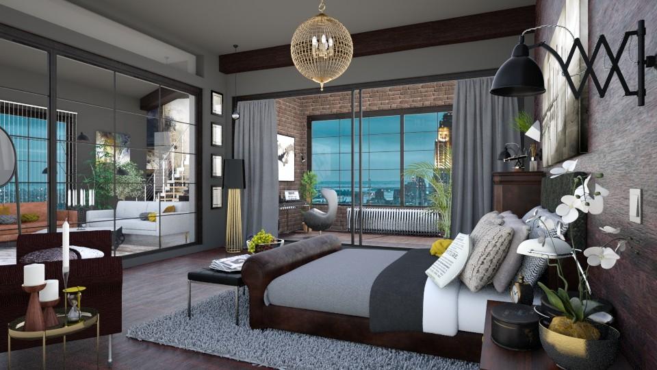 Cocon dans la ville II - Eclectic - Bedroom  - by Artichoses